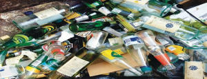 Glass Waste - Junk can be recycled fully